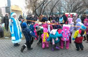 Праздничная программа для жителей р-на Люблино в рамках Московской Рожденственской ярмарки