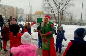 Детский праздник в сквере имени Маршала Кожедуба