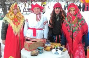 Празднование Широкой Масленицы в Люблино